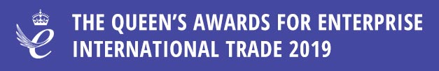 Queen's Awards for Enterprise International Trade 2019 logo