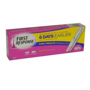 First Response Tests