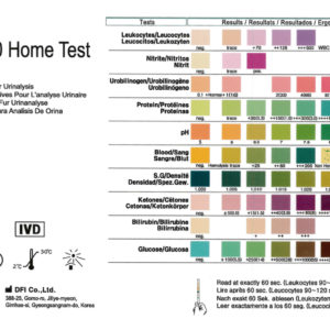1 215 5 Urine Infection Uti Strip Test Kits Home Health Uk