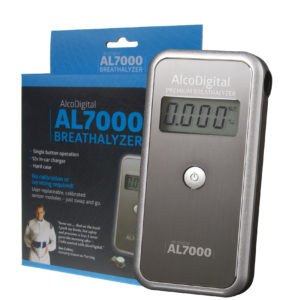 AlcoDigital AL7000 Breathalyser & Accessories