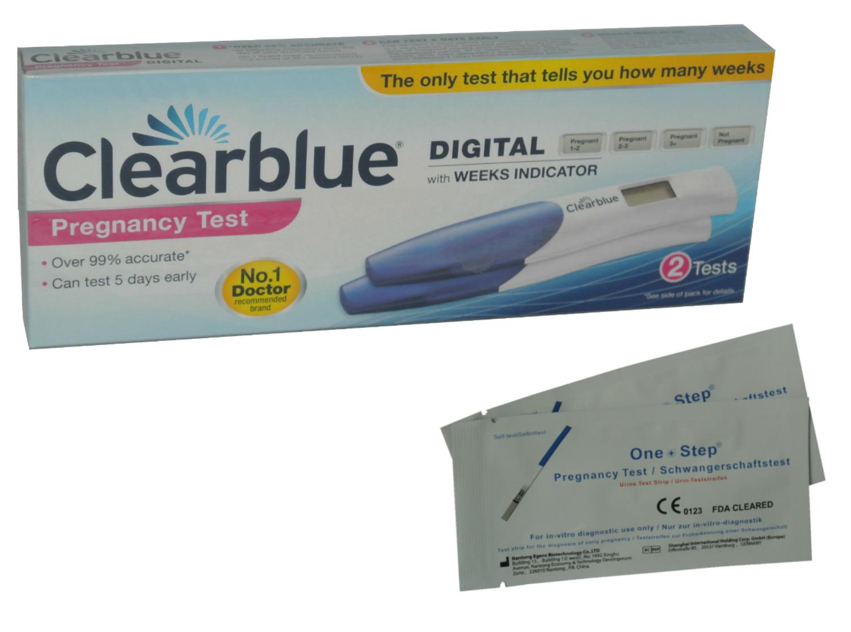 Test de grossesse clearblue digital 2 tests 2 test de - Prix test de grossesse clearblue digital ...