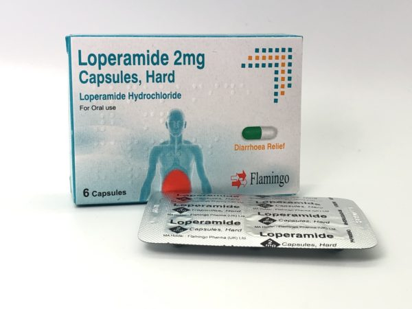 A box of Flamingo Loperamide