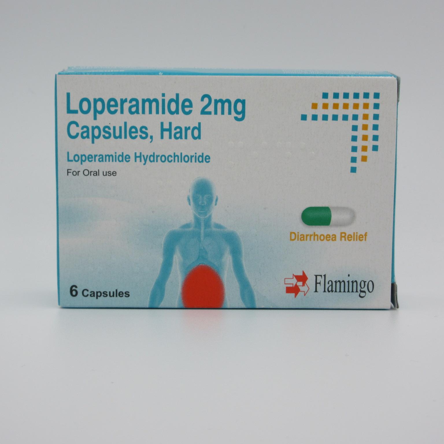 Flamingo Loperamide Diarrhoea Relief