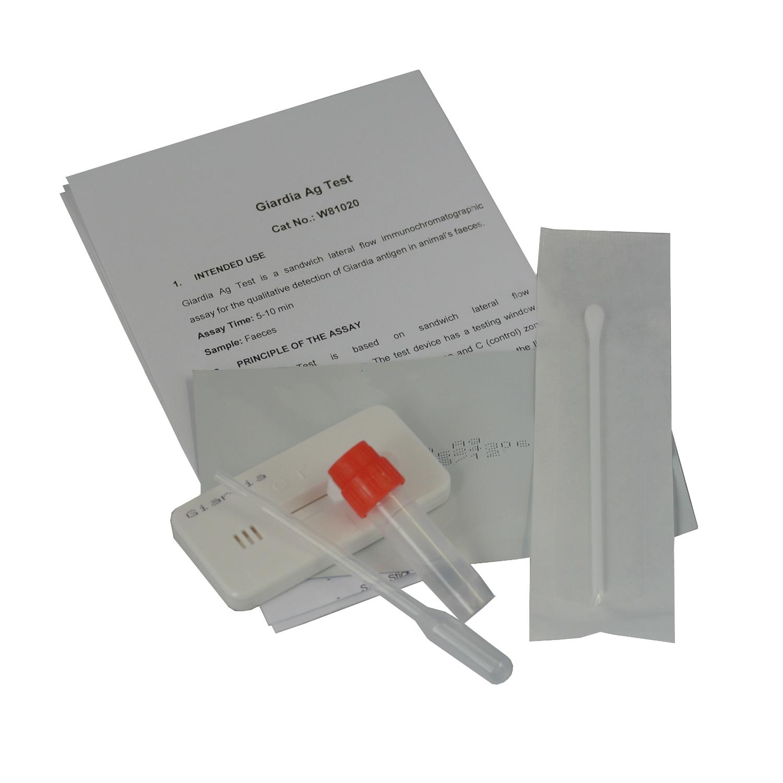 Pet Giardia Giardiasis Tests