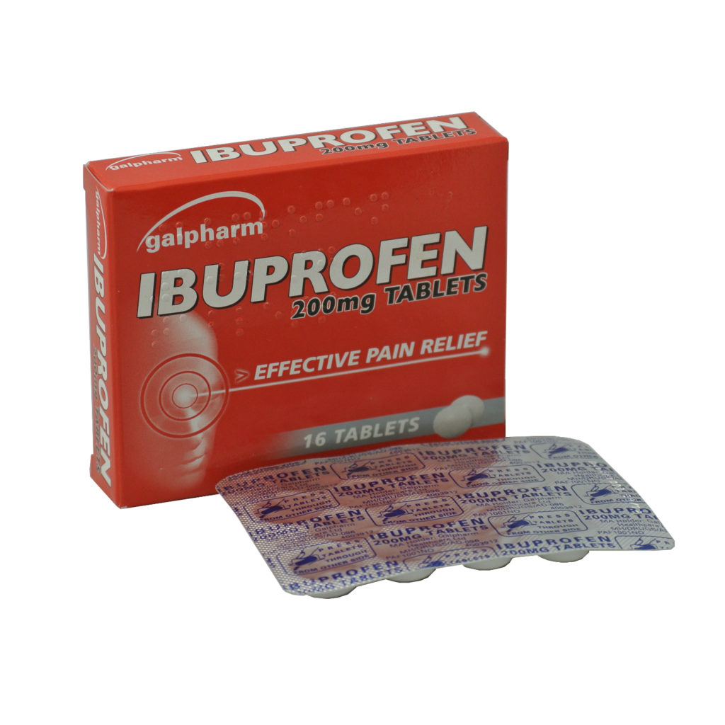 2 x Ibuprofen 200mg 16 Tablets - 32 in Total - from 79p + 99p Postage UK ONLY Shipping