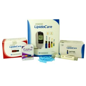 LipidoCare Meter and Test Strips