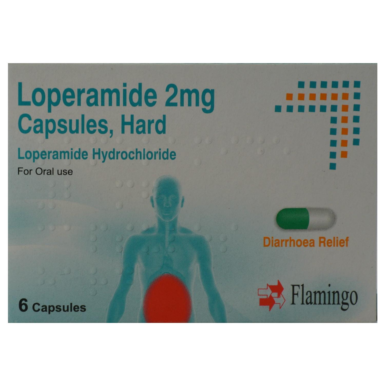18 Diarrhoea Relief 2mg Capsules Loperamide Hydrochloride
