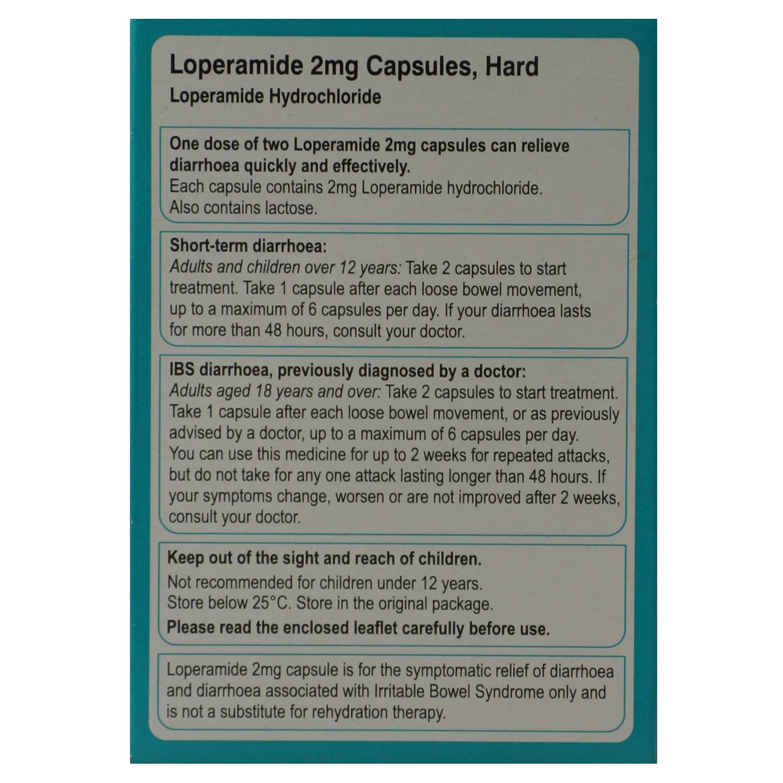 Loperamide Hydrochloride 2mg