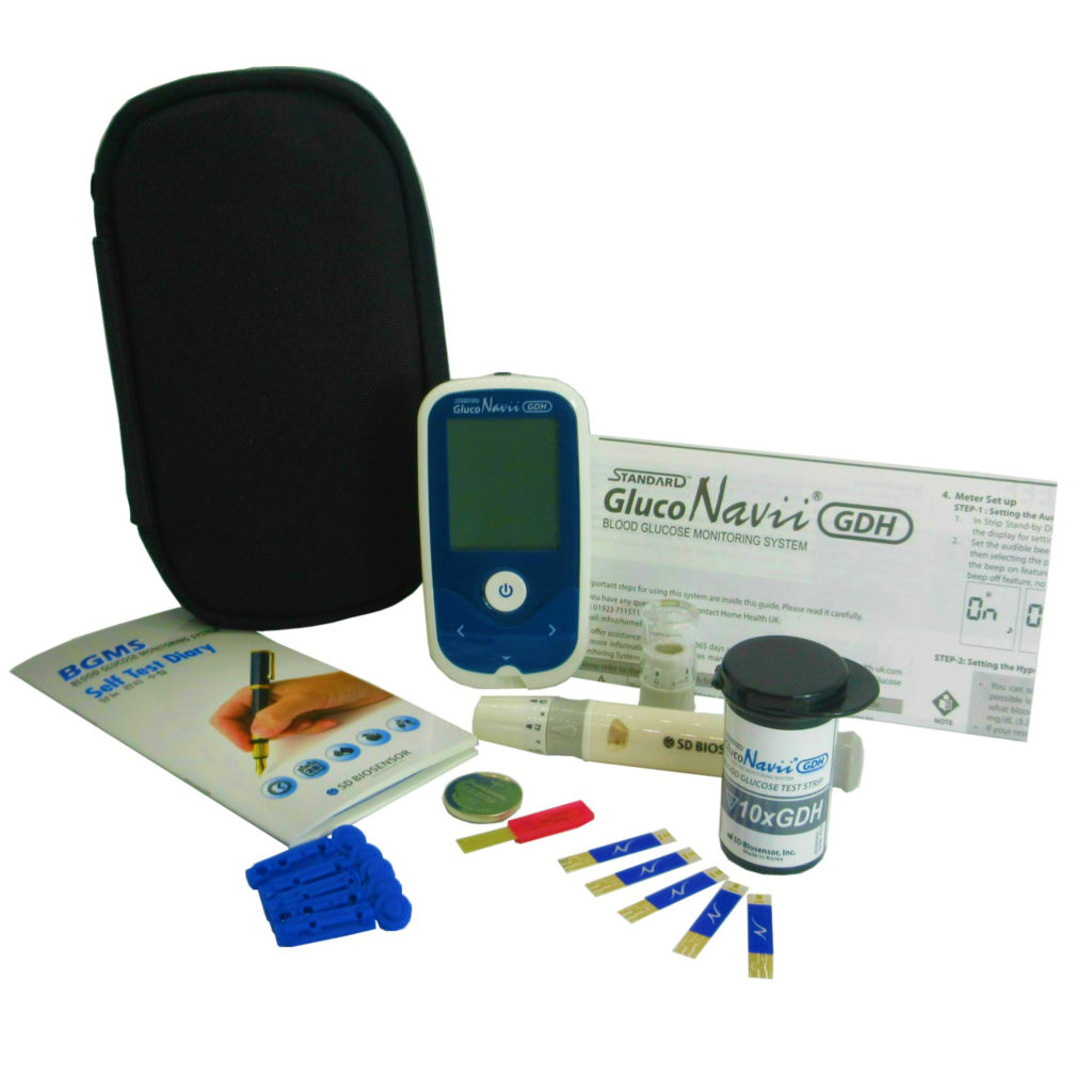 Gluco Navvi blood sugar meter