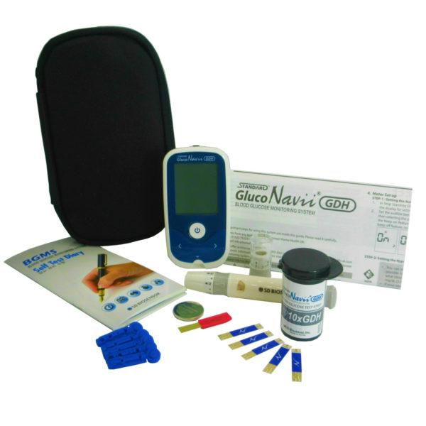 gluco navvi Blood sugar Meter