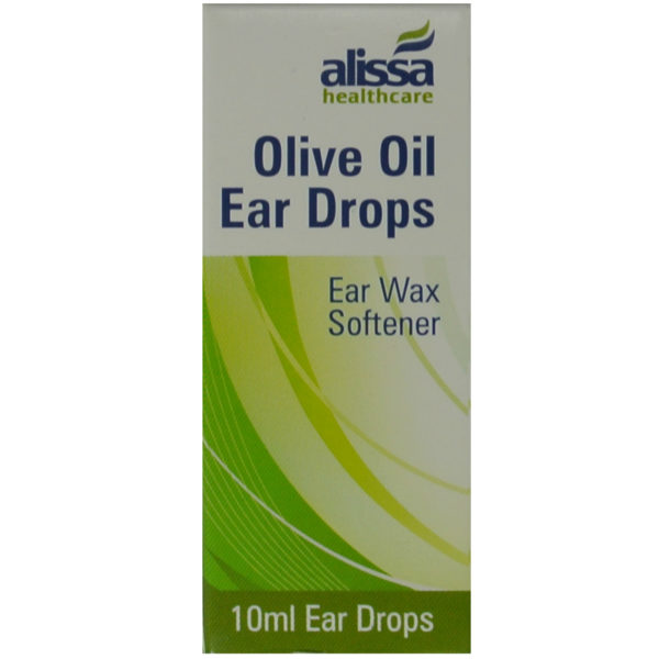 ear wax drops olive oil front box