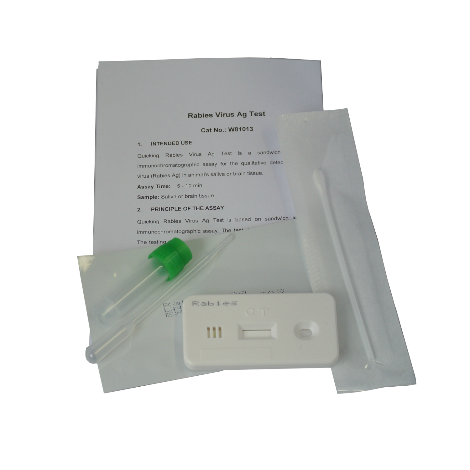 rabies cats dogs test kit