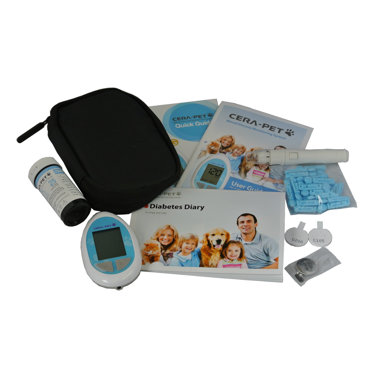 Cat & Dog Blood Glucose Meter & Test Strips