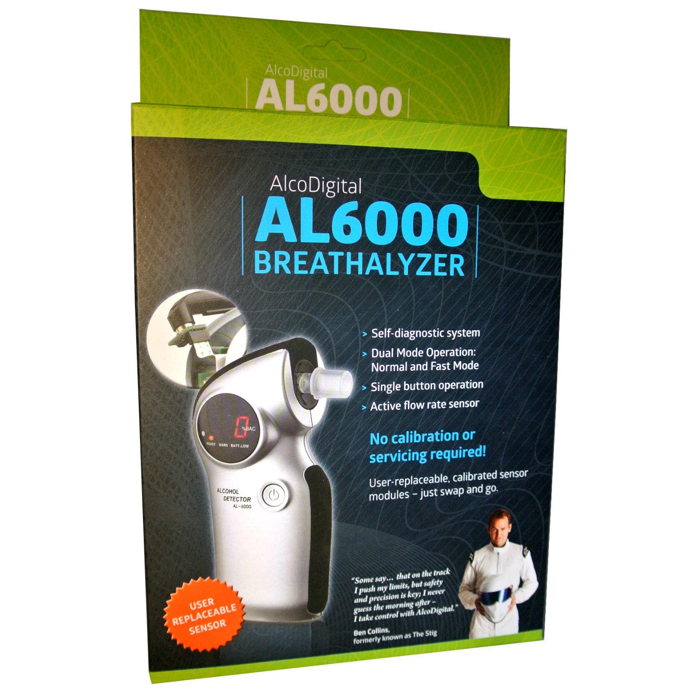 AL6000 Breathalyser & Accessories