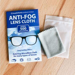 Anti-Fog Lens Cloth