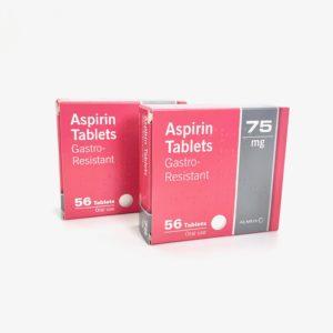 Aspirin 75mg Gastro-Resistant Tablets