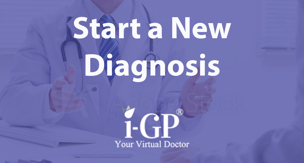 It may be you wish to start a new diagnosis and if so please click on the image above. This option may help you if you are unsure of the specific nature of your symptoms.