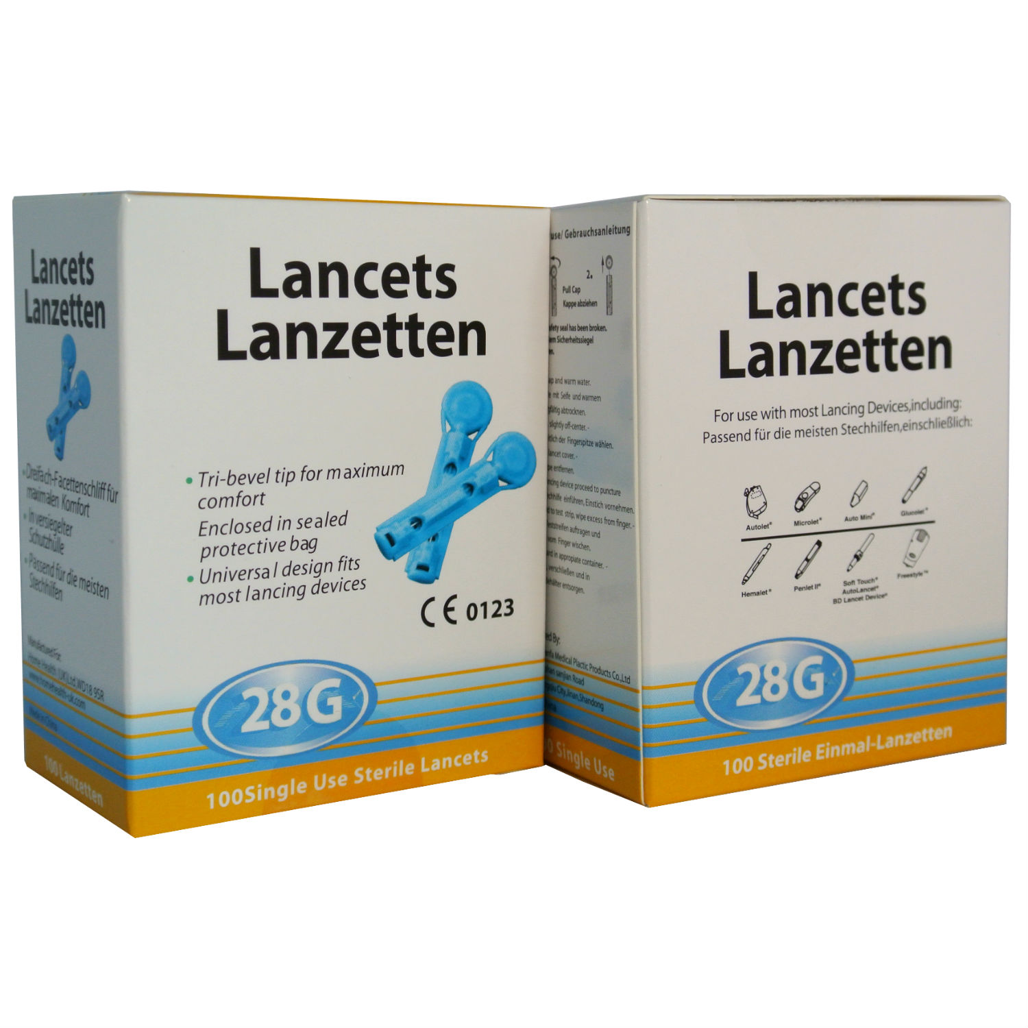 Replacement Lancets 28g