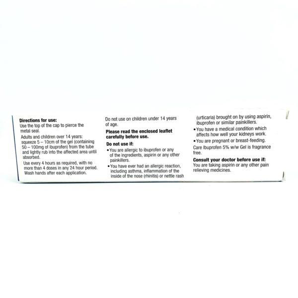 A tube of ibuprofen gel.