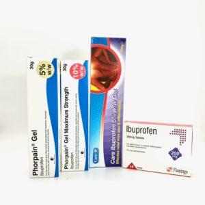 Ibuprofen Tablets, Caplets & Gels