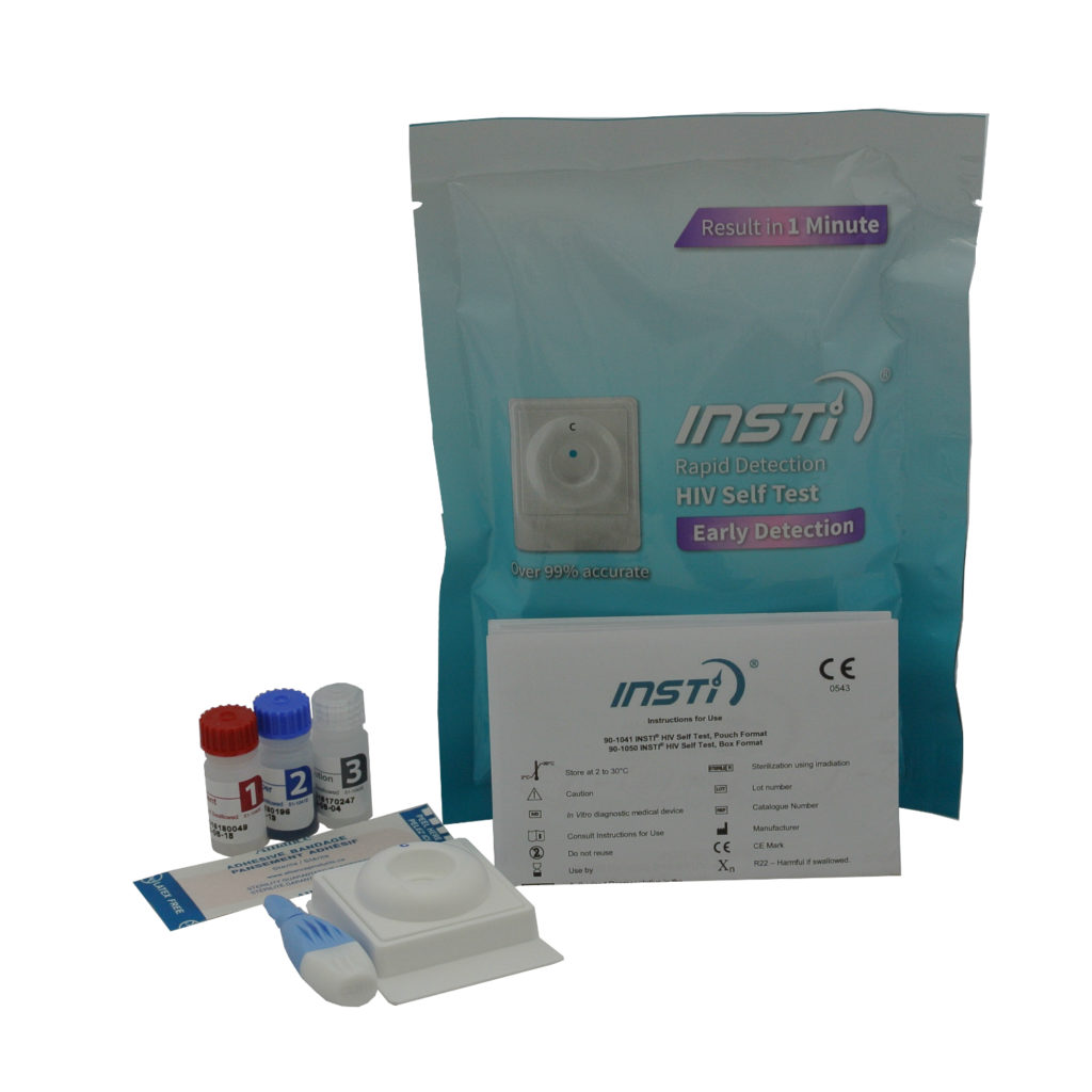 HIV Test Kit – Simple Self Testing Kit – Instant Result Home Test