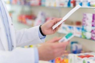 A Pharmacist at work.