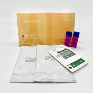 prima cholesterol test kit