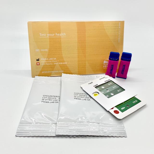 prima cholesterol test kit